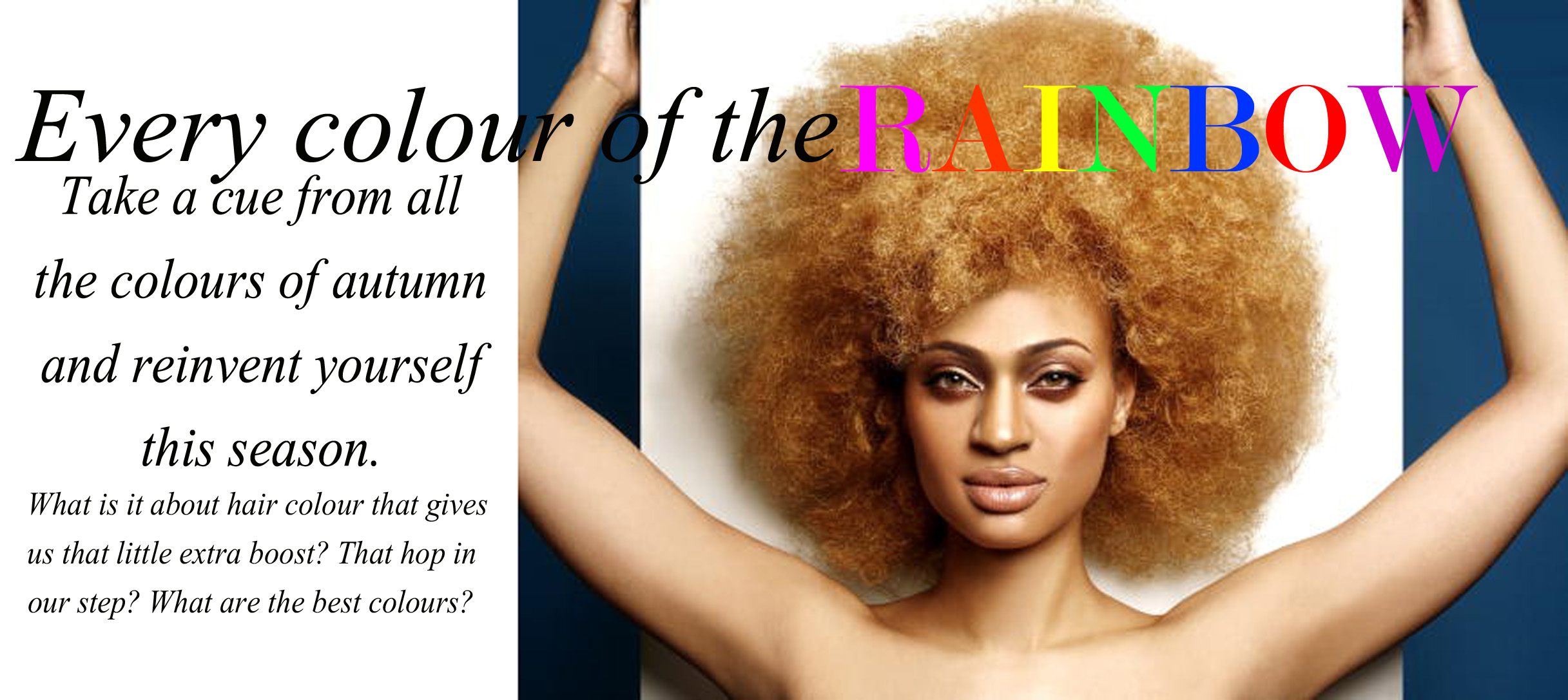 Every Colour Of The Rainbow Find The Best Hair Colour For Afro Hair